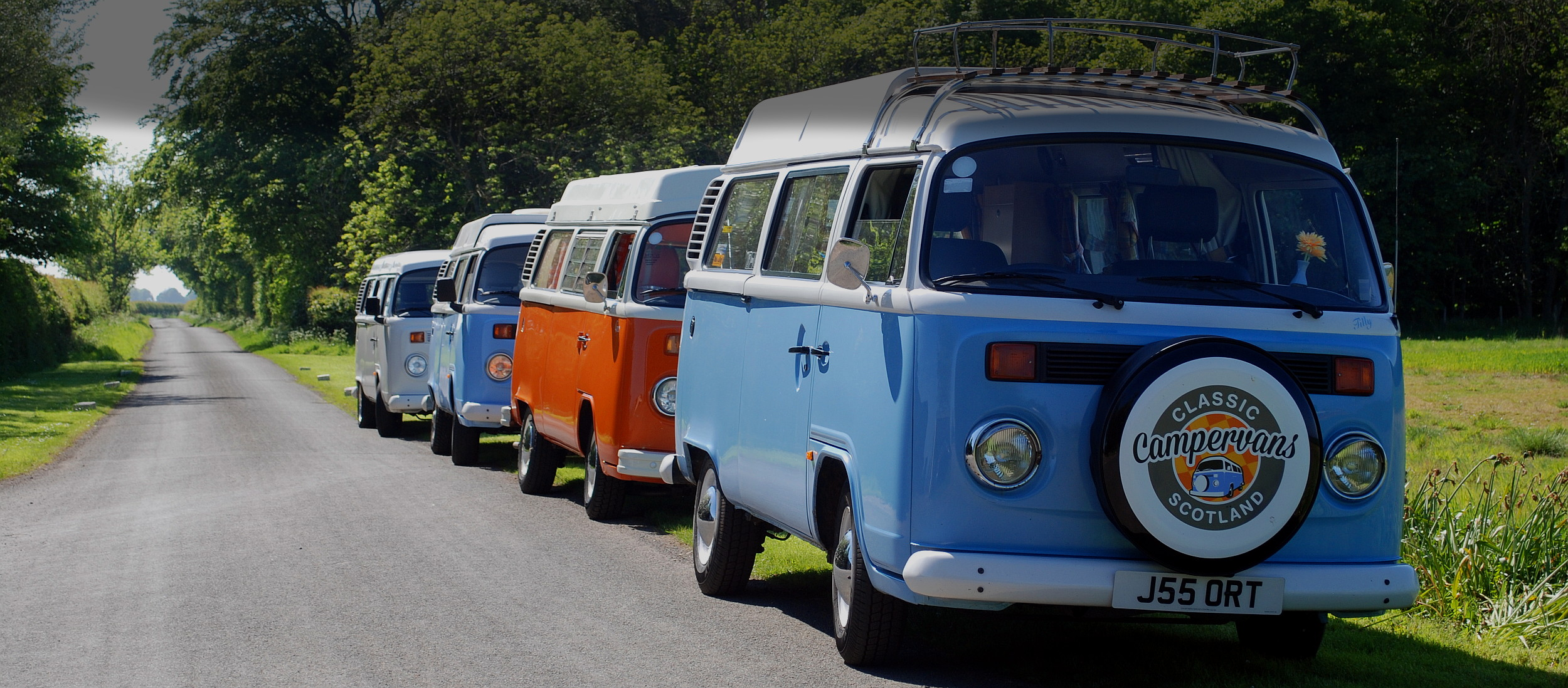 VW Campervan Hire Edinburgh