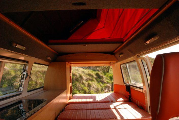 classic campervan hire east lothian