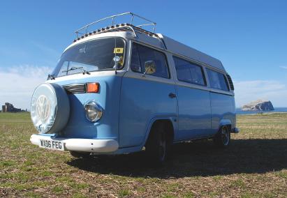 retro campervans east lothian