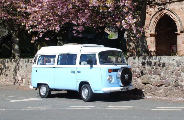 dotty campervan scotland